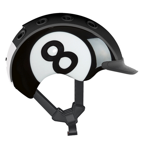 Casco Mini 2 Nro 8 black